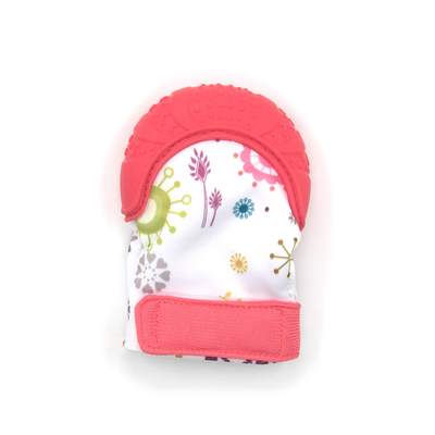 Safety OEM ODM Baby Teething Mitten BPA Free  Hand Chew Mitt